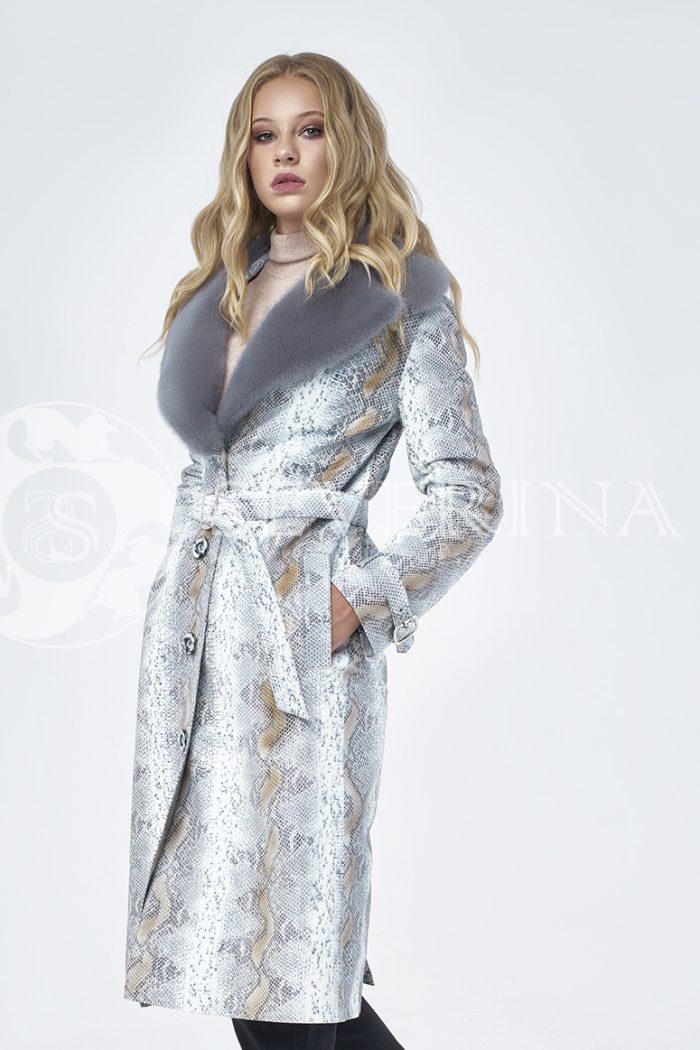 doletskiy 1208 700x1050 - пальто из натуральной кожи с отделкой мехом норки