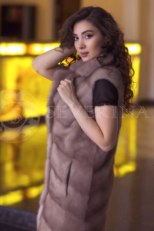 norka pastel 3 500x750 - жилет из меха норки pastel