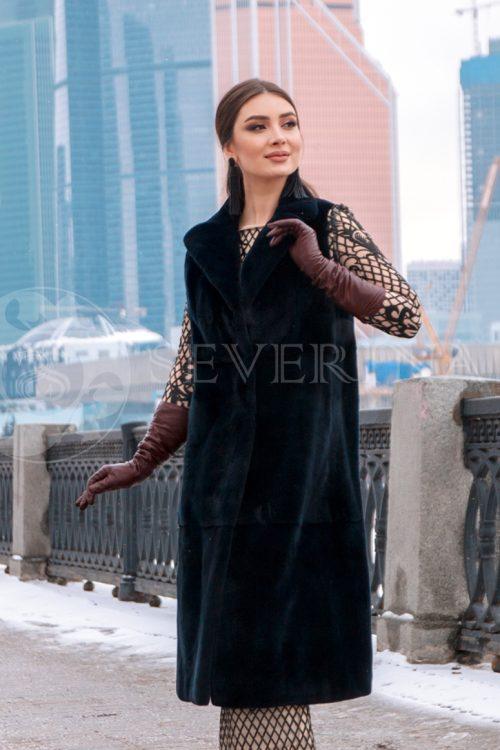 norka t.sinjaja 2 500x750 - жилет из меха норки темно-синего цвета