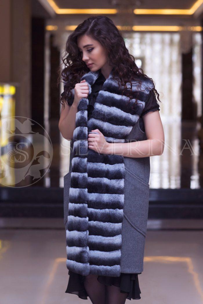 shinshilla 3 700x1050 - жилет комбинированный с мехом шиншиллы