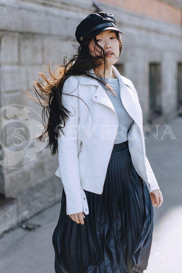 """067 700x1049 - куртка """"косуха"""" из итальянской экокожи"""
