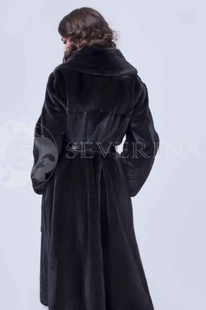 """doletskiy 0718 700x1050 - шуба из меха скандинавской норки """"черный бриллиант"""""""