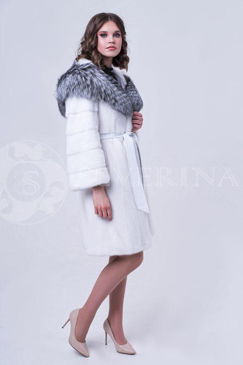 doletskiy 0973 500x750 - шуба из меха норки с отделкой из меха серебристо-черной лисы