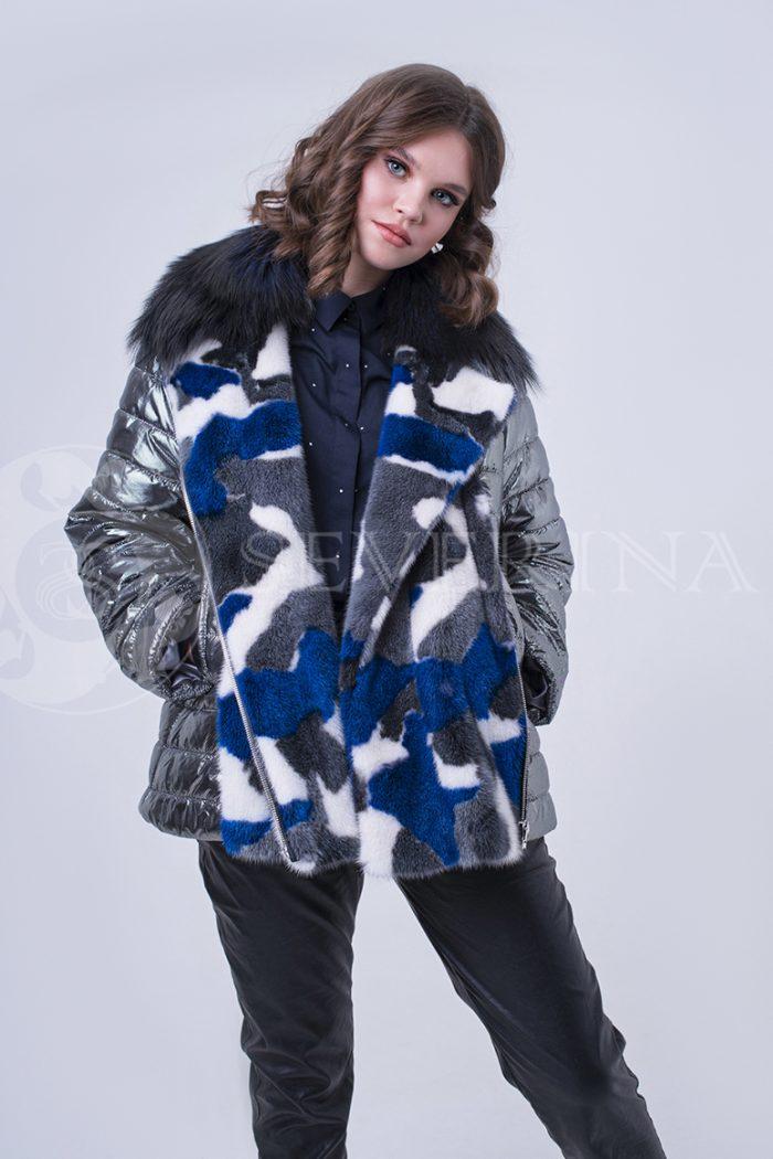 doletskiy 1932 700x1050 - куртка с отделкой цветным мехом норки