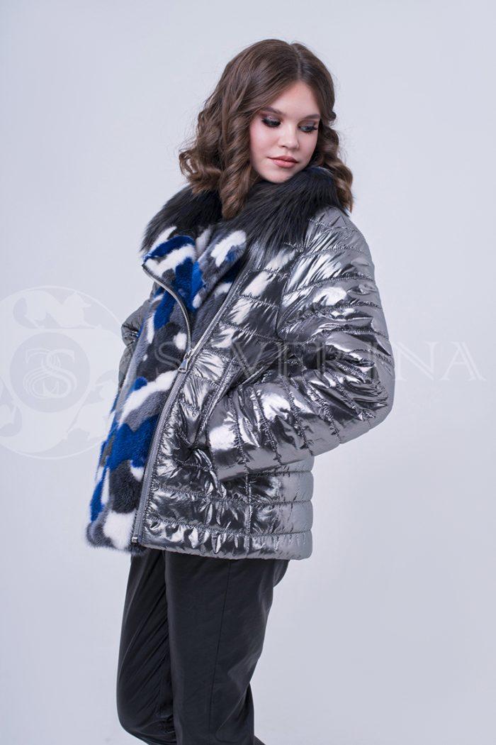 doletskiy 1971 1 700x1050 - куртка с отделкой цветным мехом норки
