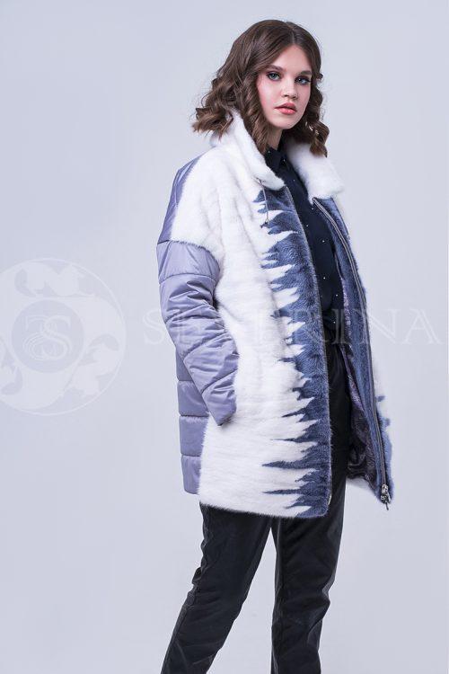 doletskiy 2054 500x750 - куртка с отделкой из меха норки