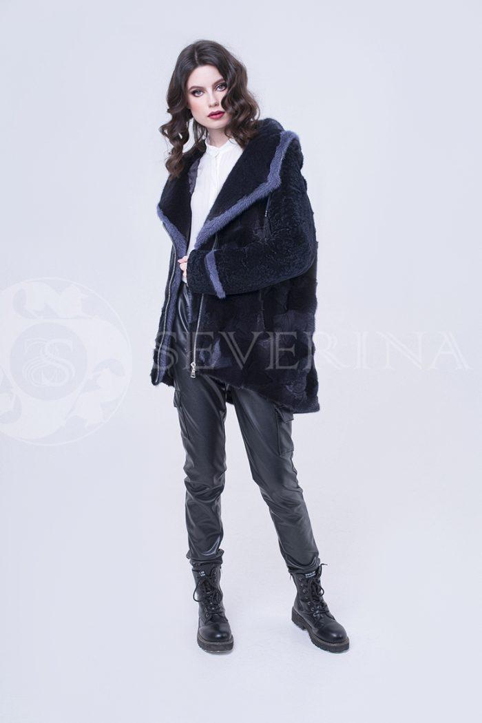 doletskiy 2354 1 700x1050 - шуба-куртка из меха норки и овчины