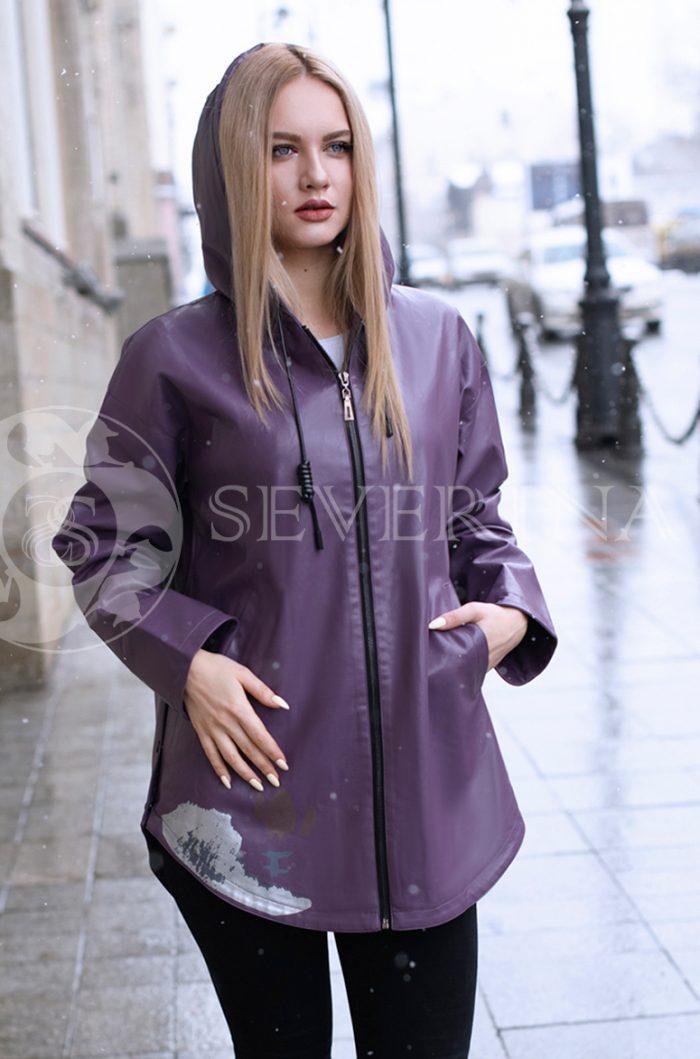 куртка из итальянской экокожи