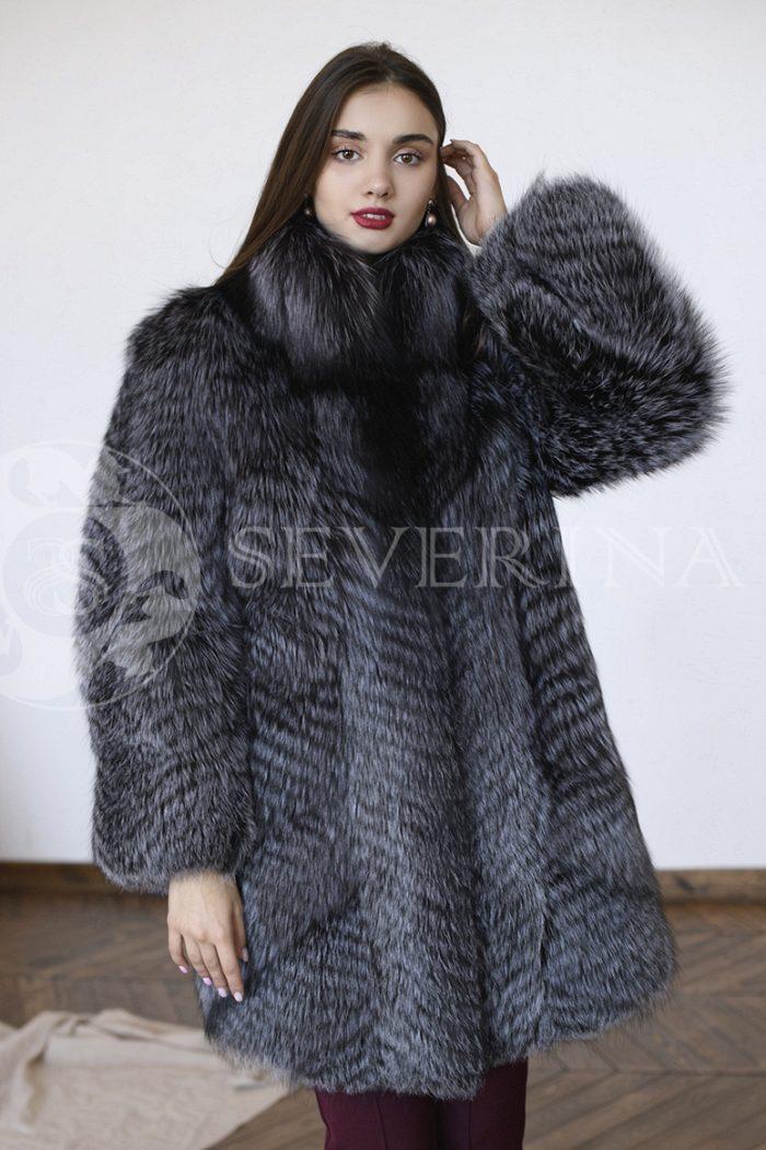 gen5741 700x1050 - шуба из меха серебристо-черной лисы