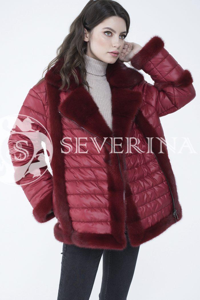 lev300870 1 700x1050 - куртка с отделкой из меха норки