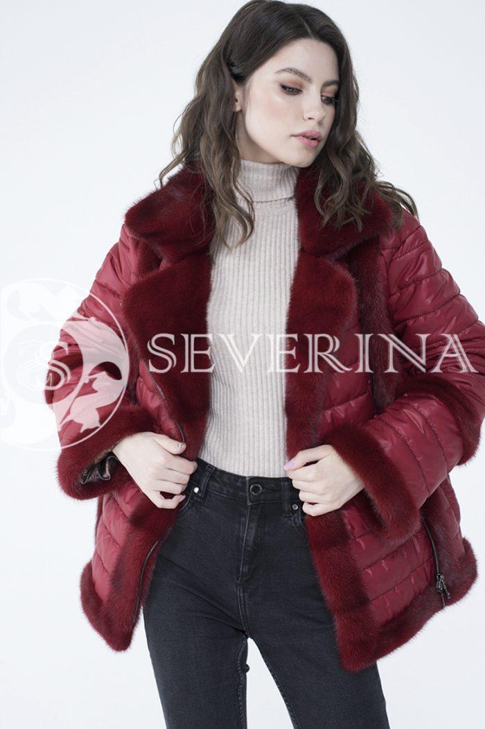 lev300880 1 700x1051 - куртка с отделкой из меха норки
