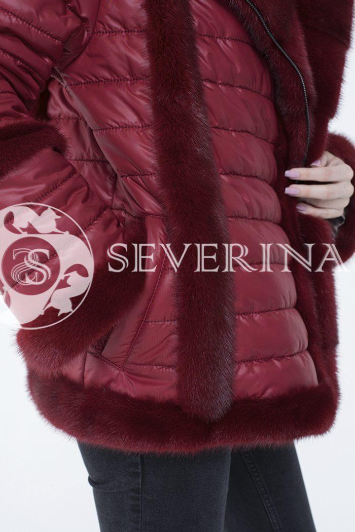 lev300881 1 700x1050 - куртка с отделкой из меха норки