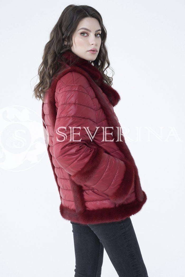 lev300910 1 700x1050 - куртка с отделкой из меха норки