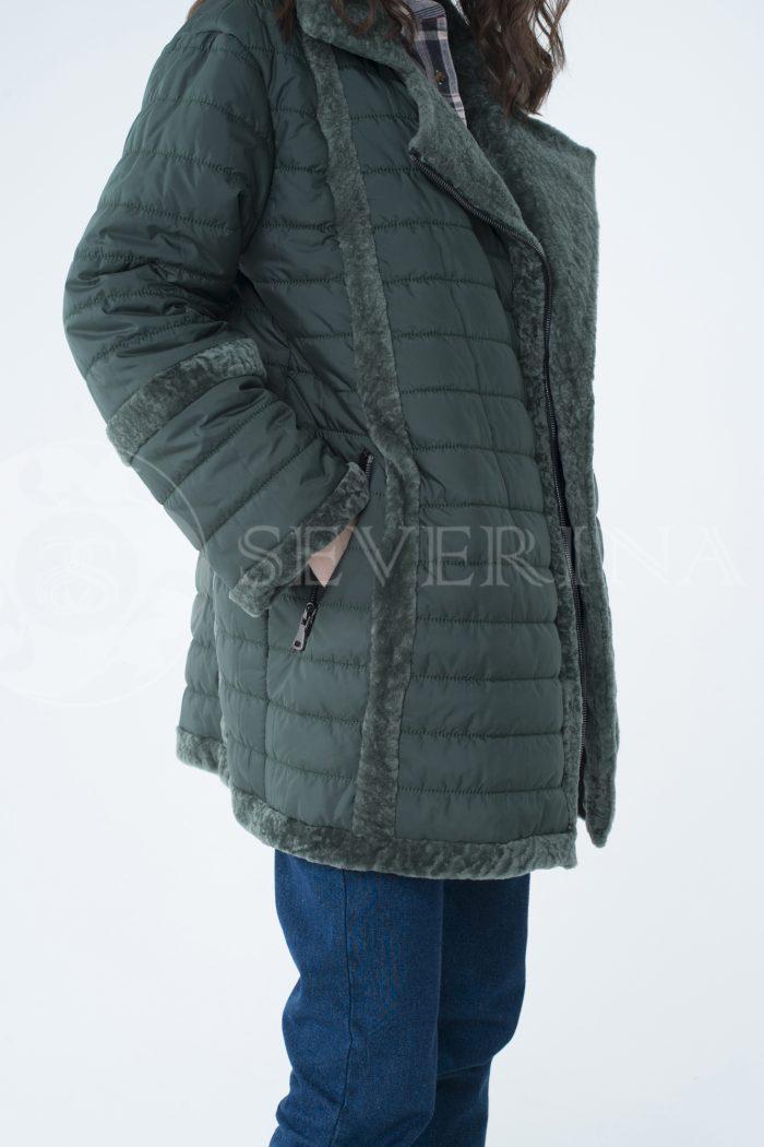 lev301735 700x1050 - куртка с отделкой из меха овчины