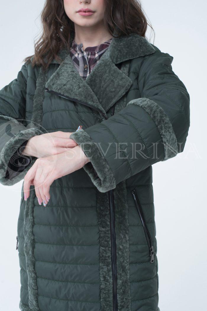 lev301742 700x1050 - куртка с отделкой из меха овчины