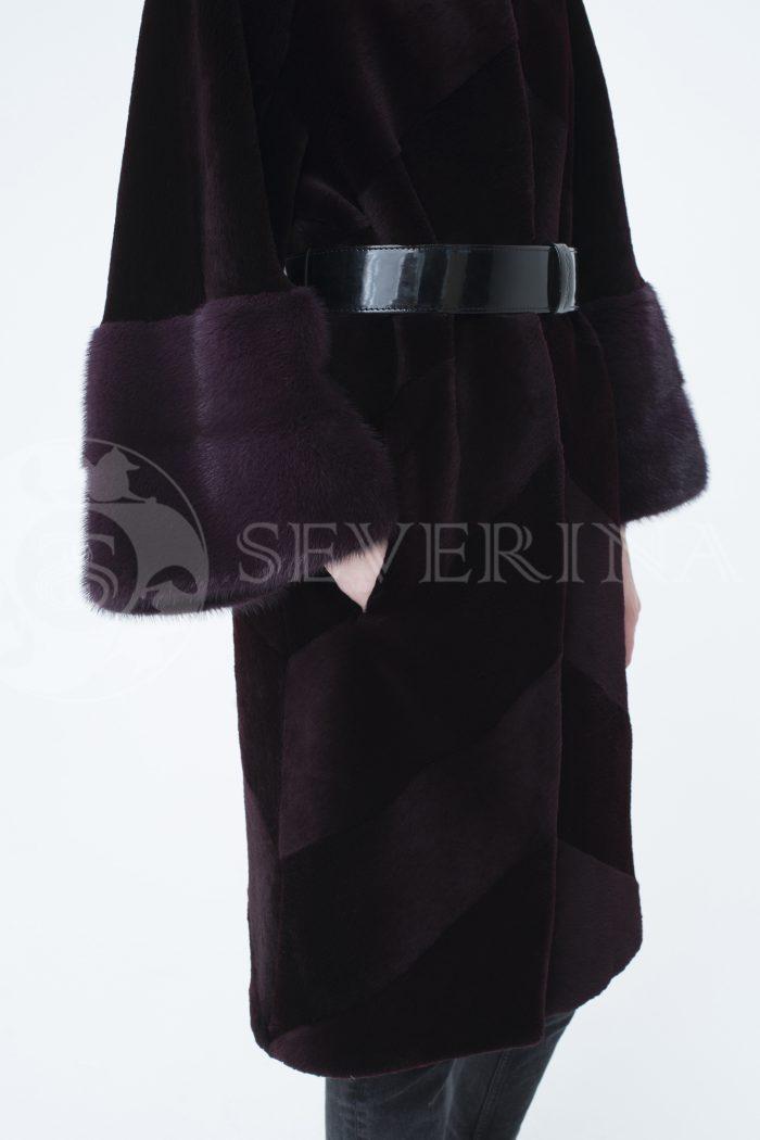 lev301942 1 700x1050 - шуба из стриженного меха бобра с отделкой мехом норки