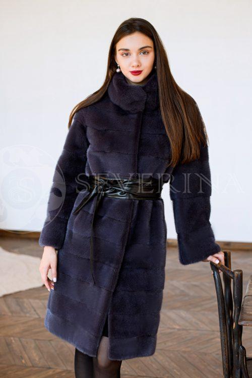 "norka baklazhan polosy studija liza 500x750 - куртка ""косуха"" из итальянской экокожи"
