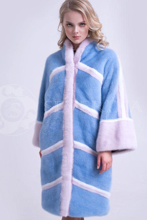 golubaja norka snegurka 1 500x750 - шуба из меха норки нежно-голубого цвета