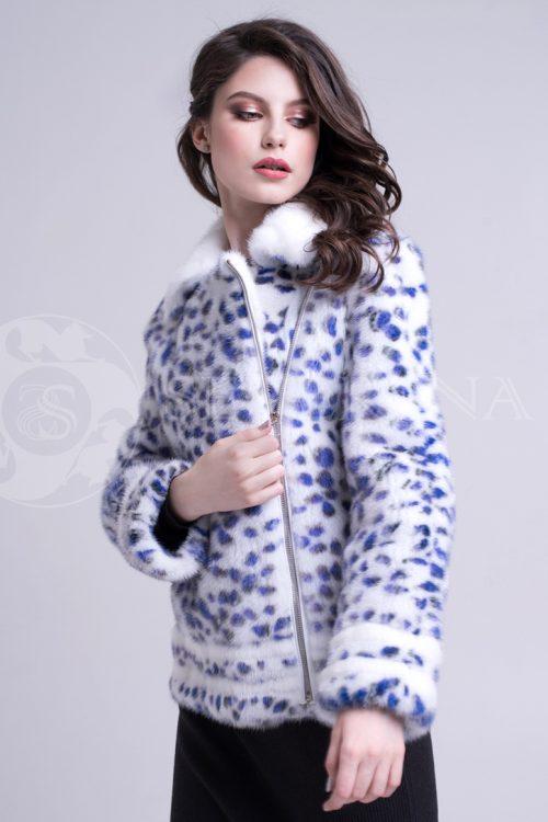 leopard sinie pjatna korotkaja 1 500x750 - шуба из меха норки white с анималистичным принтом