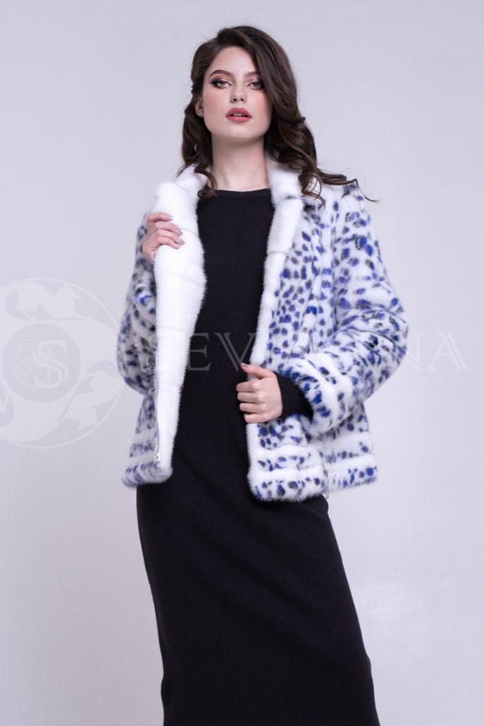 leopard sinie pjatna korotkaja 3 700x1050 - шуба из меха норки white с анималистичным принтом