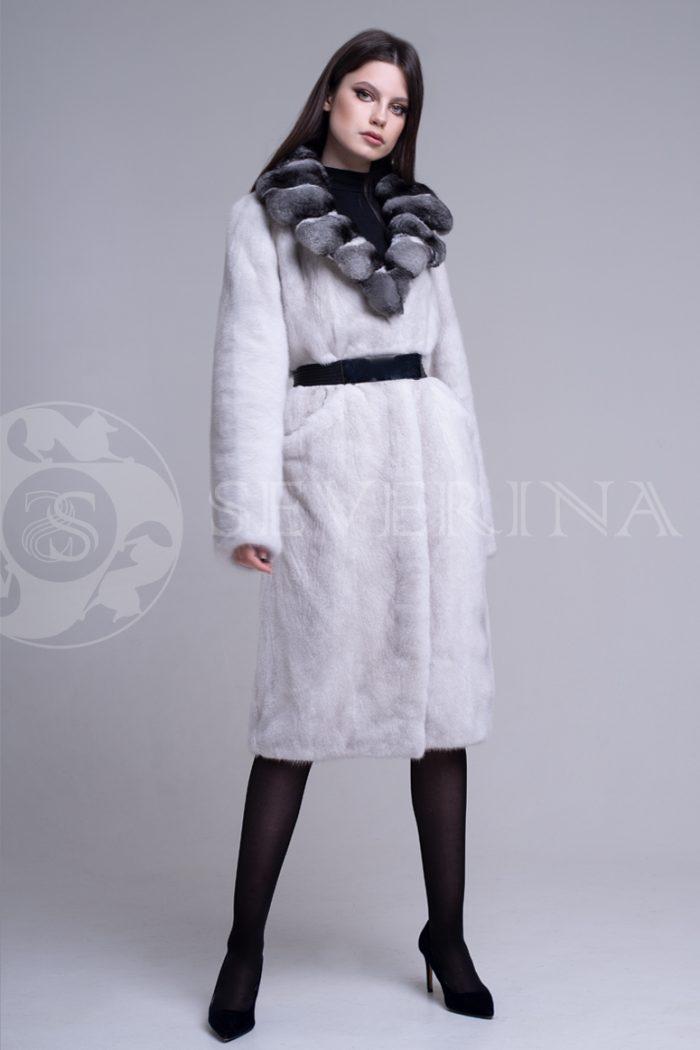 sv.seraja  vorotnik lackan shinshilla 1 700x1050 - шуба из меха скандинавской норки platinum с отделкой мехом шиншиллы
