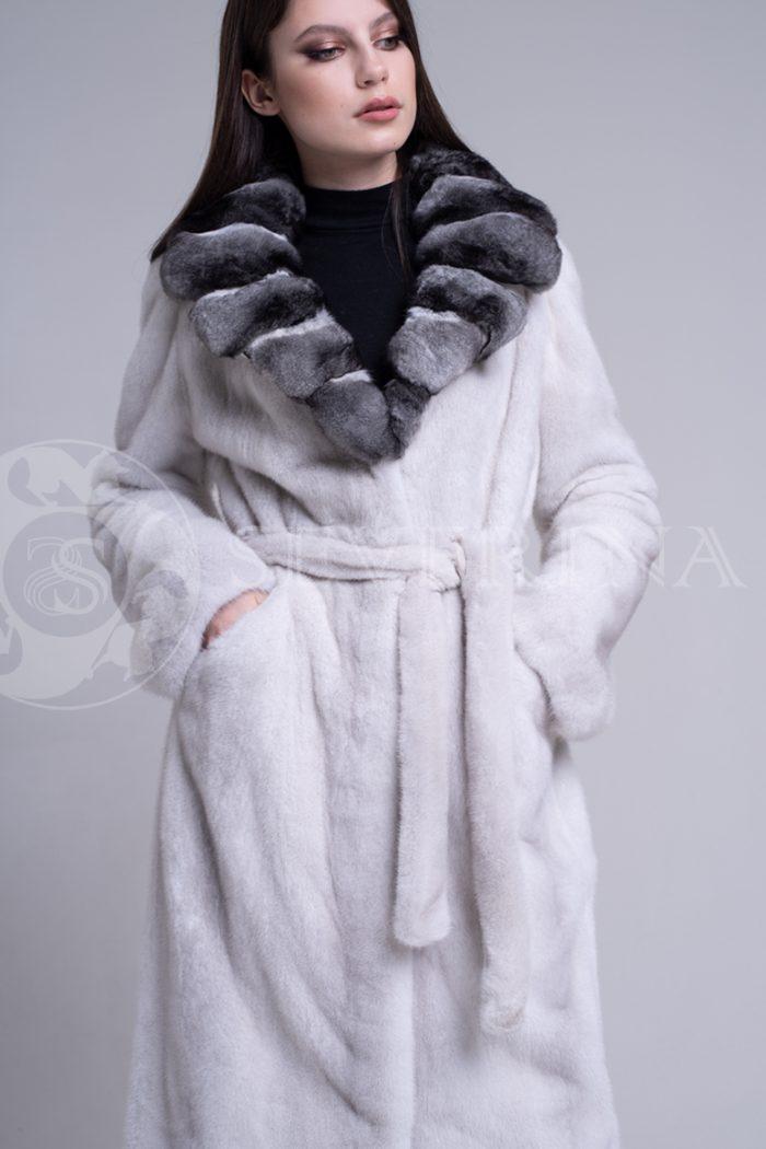 sv.seraja  vorotnik lackan shinshilla 2 700x1050 - шуба из меха скандинавской норки platinum с отделкой мехом шиншиллы