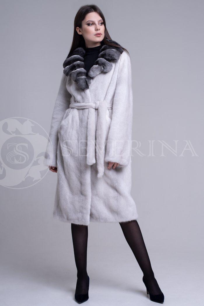 sv.seraja  vorotnik lackan shinshilla 3 700x1050 - шуба из меха скандинавской норки platinum с отделкой мехом шиншиллы