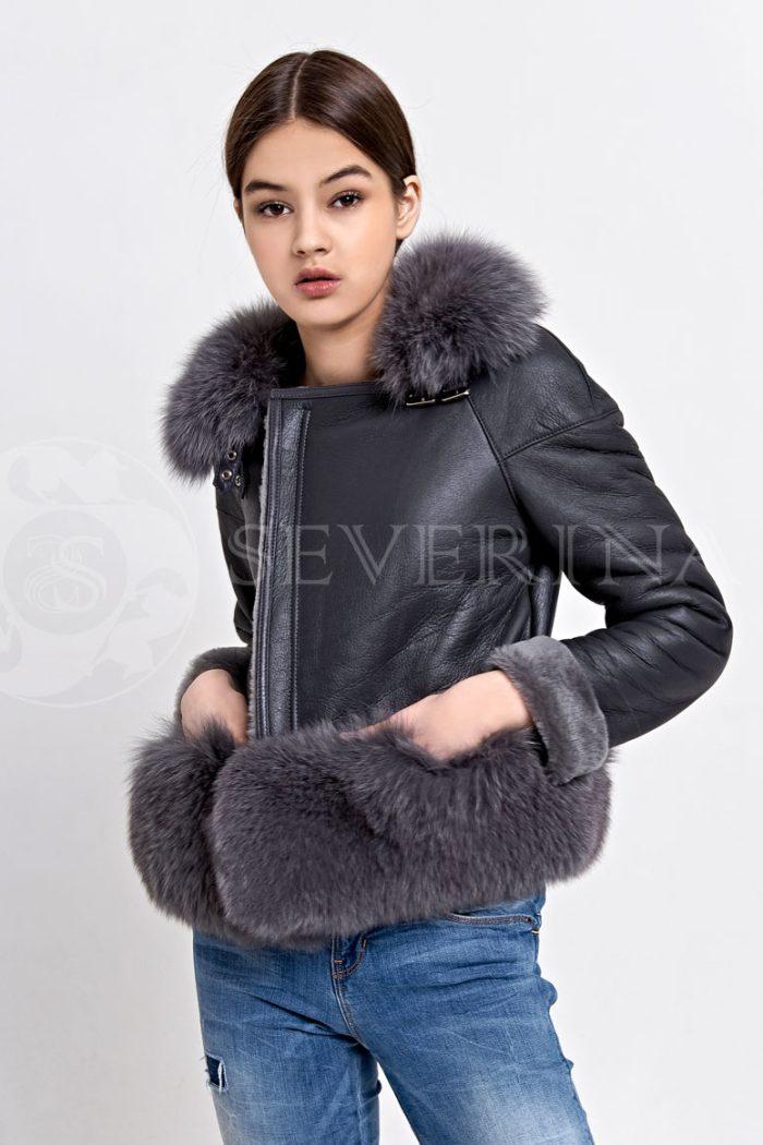 seraja3 700x1050 - куртка-дубленка с меховой отделкой
