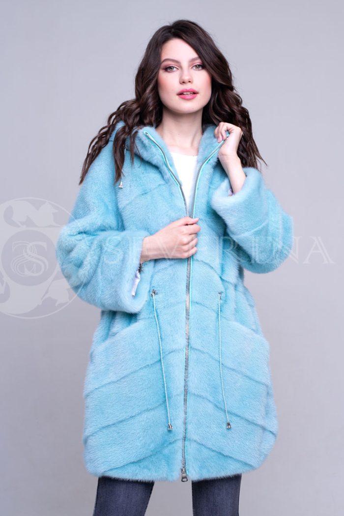 golubaja3 700x1050 - шуба из меха норки бирюзового цвета