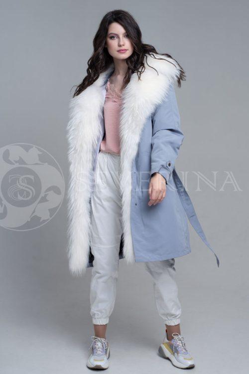 seraja1 500x750 - куртка-парка с отделкой мехом лисы