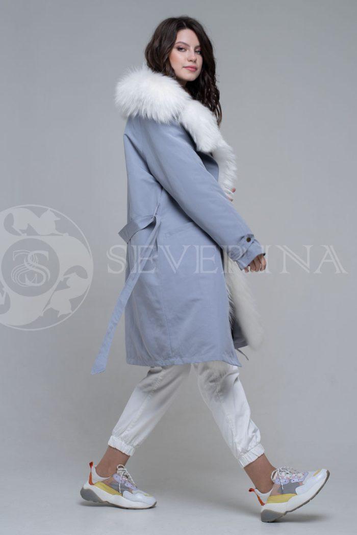 seraja4 700x1050 - куртка-парка с отделкой мехом лисы