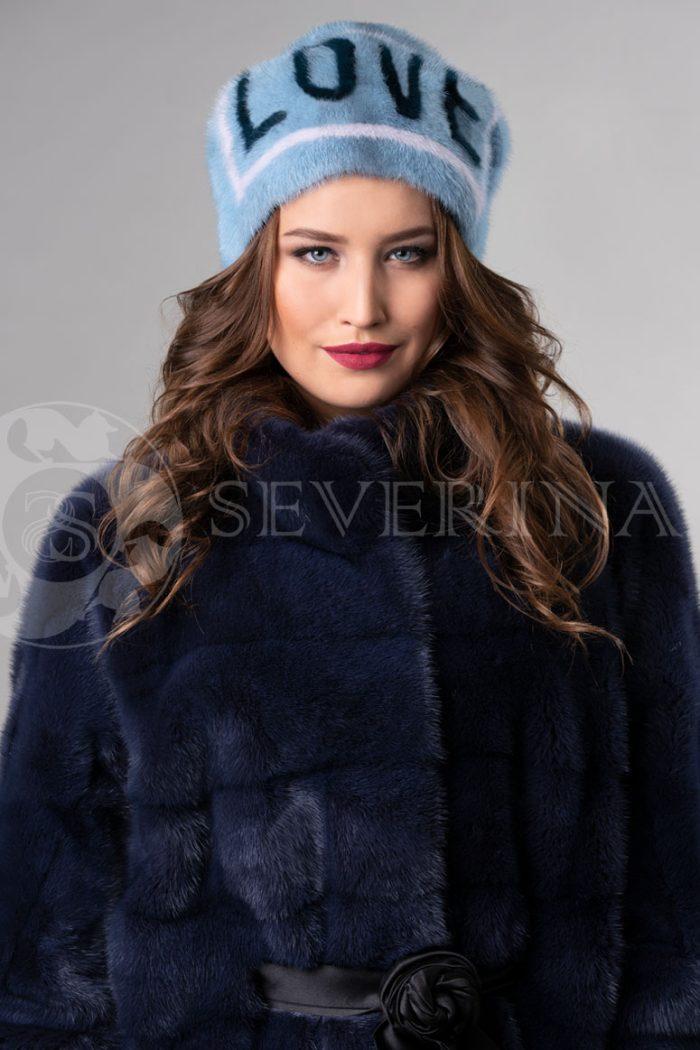 norka nezhno golubaja love1 700x1050 - шапка из меха норки с инкрустацией