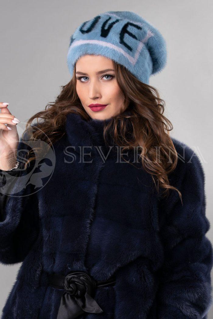 norka nezhno golubaja love2 700x1050 - шапка из меха норки с инкрустацией