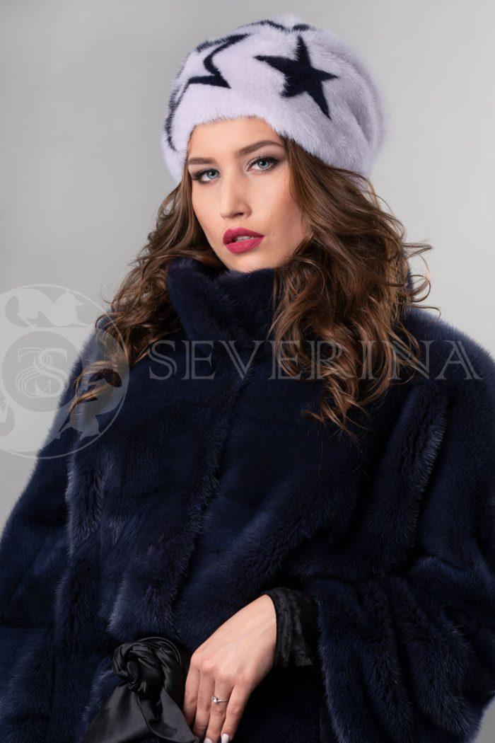norka nezhno rozovaja t.fiol zvezdy3 700x1050 - шапка из меха норки с инкрустацией