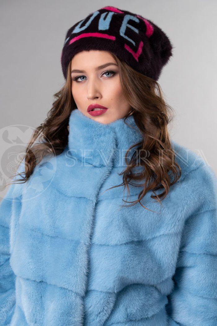 norka t.sinjaja love1 700x1050 - шапка из меха норки с инкрустацией