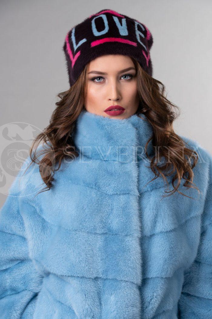 norka t.sinjaja love2 700x1050 - шапка из меха норки с инкрустацией