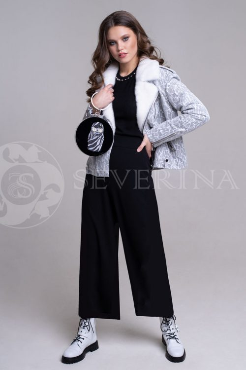 reptilija belaja1 500x750 - куртка-дубленка с меховой отделкой