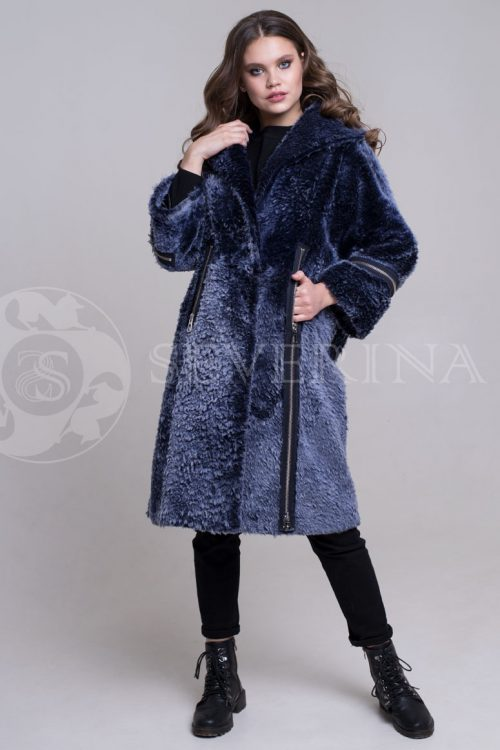 shuba t.sin kosuha molnii3 500x750 - шуба-дубленка из овчины с отделкой молниями