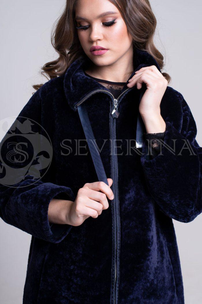 Шуба-куртка из овчины