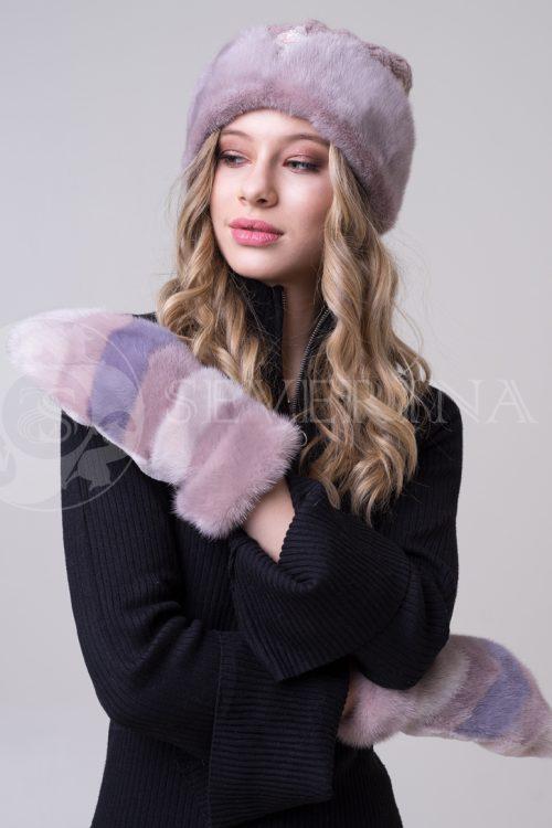 rukavichki chajnaja roza 1 500x750 - варежки из меха норки
