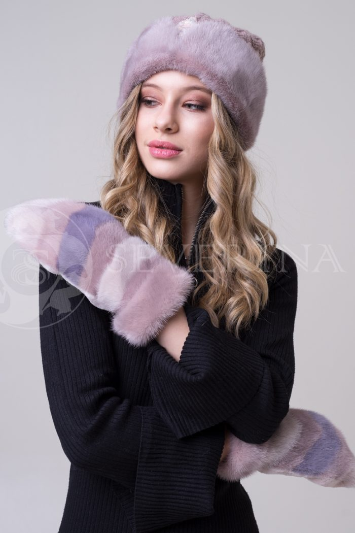 rukavichki chajnaja roza 1 700x1050 - варежки из меха норки