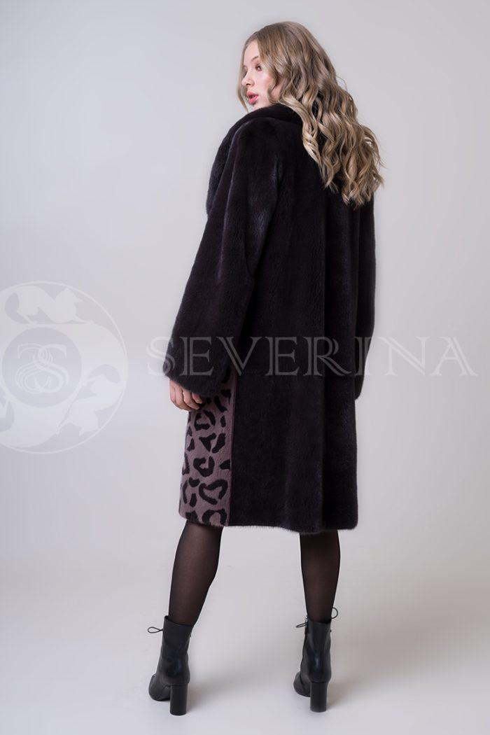 shuba norka t.kor lepard karmany 2 1 700x1050 - шуба из меха норки с леопардовыми карманами