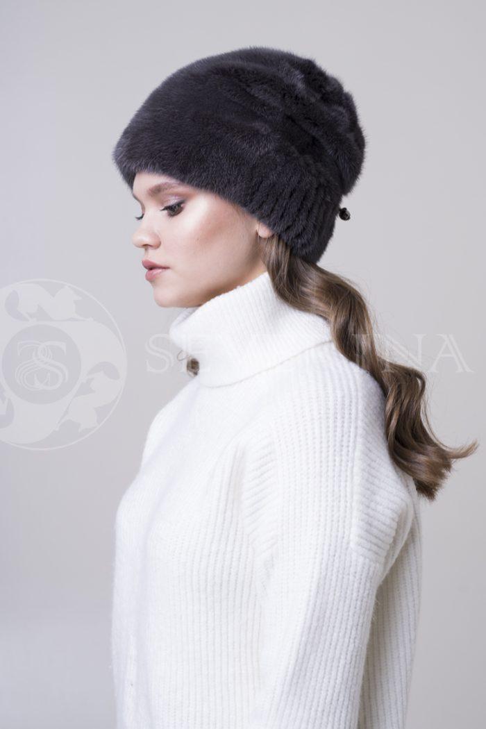 norka mjagkaja fiol1 700x1050 - шапка из меха норки