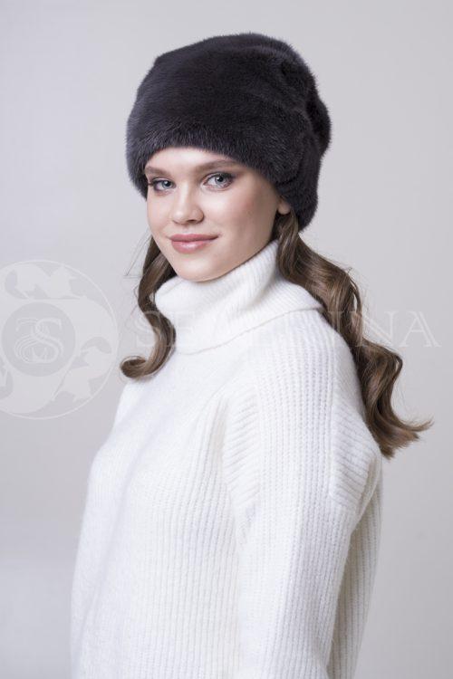 шапка из меха норки