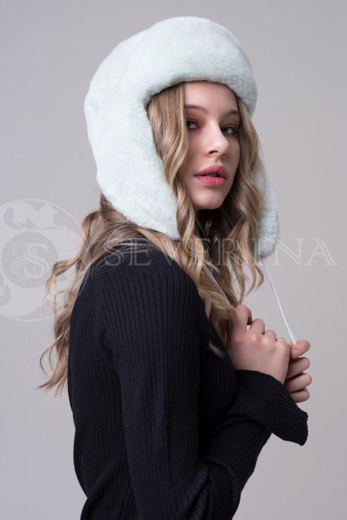 шапка из меха Rex rabbit