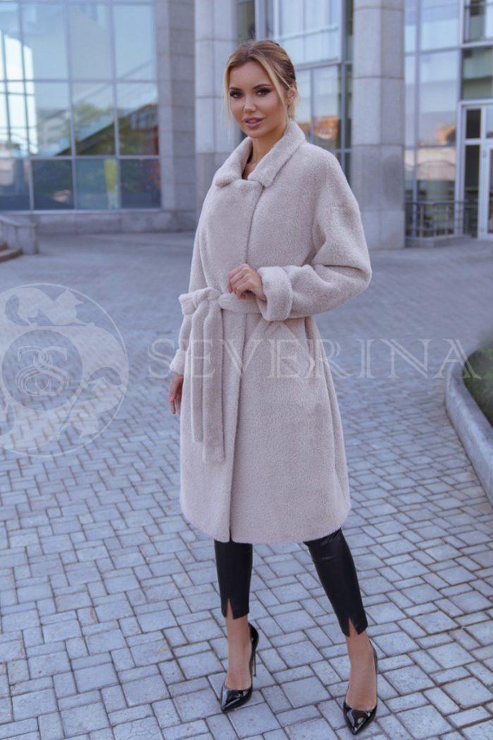 vanilnoe 2 700x1050 - пальто из мягкой ткани бежевого цвета