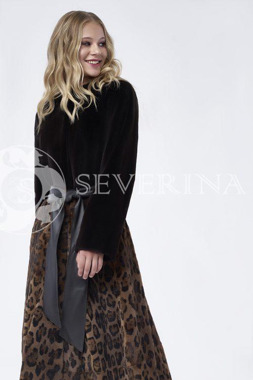 doletskiy 0006 500x750 - шуба из меха норки с леопардовым принтом