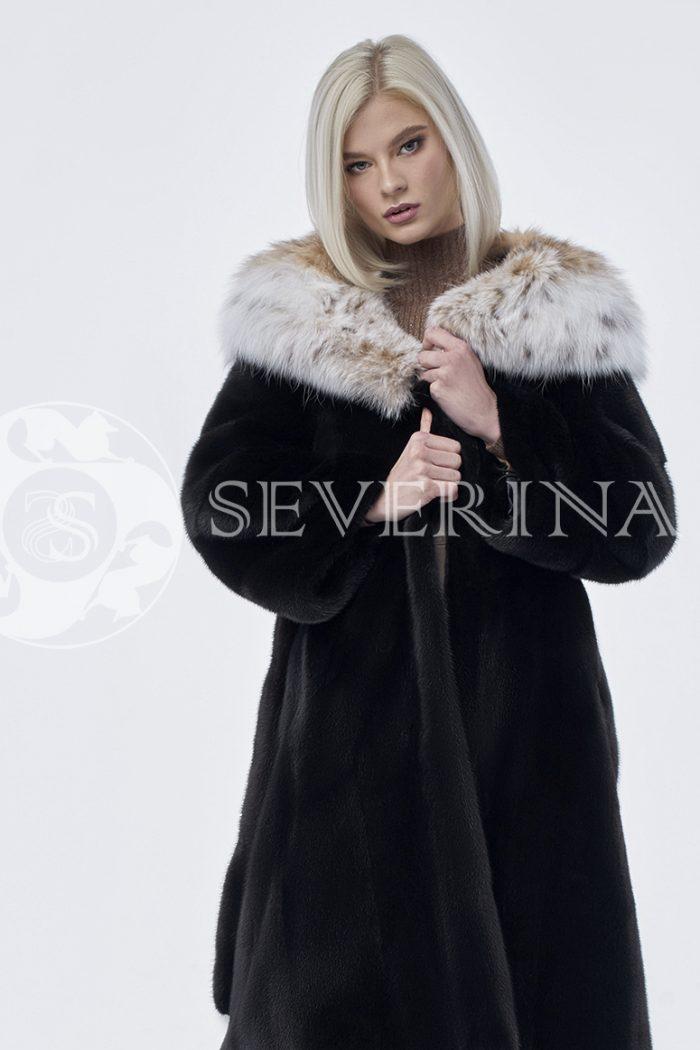 doletskiy 0158 1 700x1050 - шуба из меха скандинавской норки с мехом рыси
