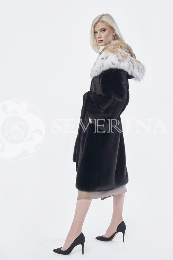 doletskiy 0209 1 700x1050 - шуба из меха скандинавской норки с мехом рыси