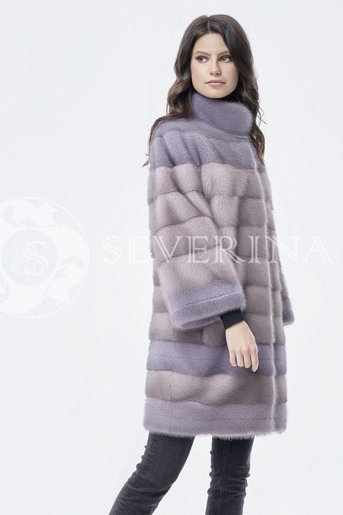 doletskiy 1267 700x1050 - шуба из комбинированного меха скандинавской норки